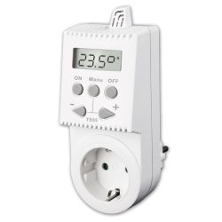 Kištukinis neprogramuojamas termostatas (termoreguliatorius) TS05