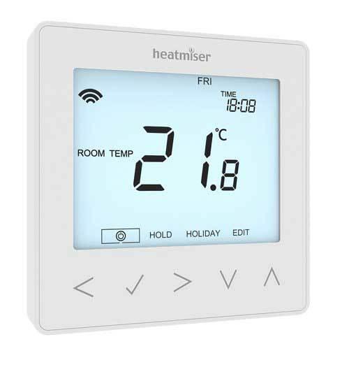 Heatmiser neoStat V2 Elektroninis programuojamas termostatas