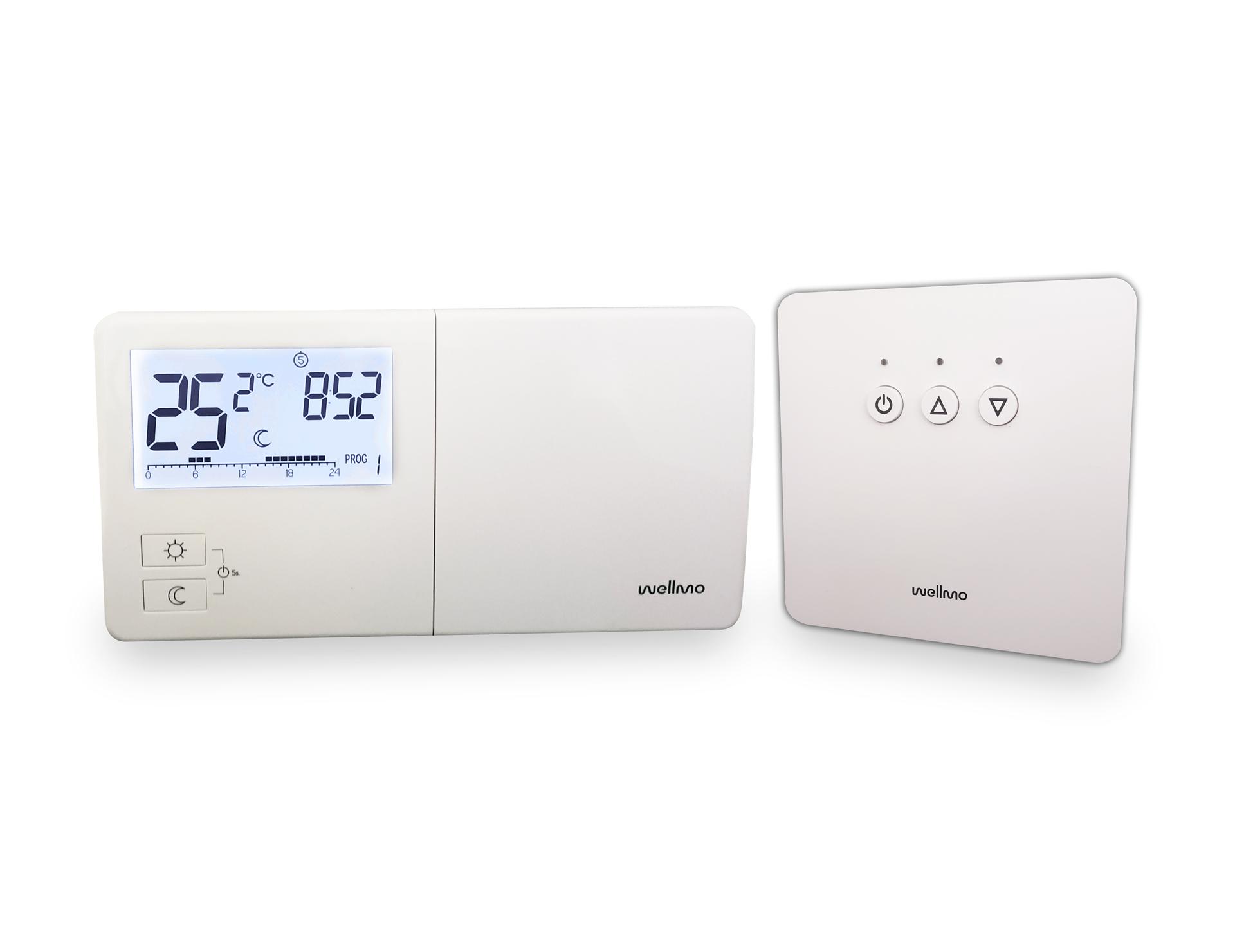 Belaidis programuojamas termostatas Wellmo WTH25.16RF NEW